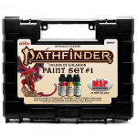 RPR09967 Pathfinder Colors of Golarion Paint Set  No 1 Acrylic Master Series Hobby Paint Reaper Miniatures