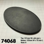 Rpr74068 105mm X 70mm Oval Gaming Base (4)