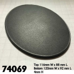 Rpr74069 120mm X 92mm Oval Gaming Base (4)
