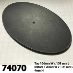 Rpr74070 170mm X 105mm Oval Gaming Base (4)