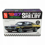 AMT834 1967 Shelby GTS350 Mustang Black 1/25 Scale Plastic Model Kit AMT Models