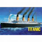 HBM81305 HMS Titanic 1/550 Scale Plastic Model Kit Hobby Boss