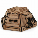 LCW1307 Pillbox 28mm Miniature Building Laser Craft