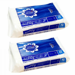 WONDS038 Signature Care Wet Wipes Flushable 2 Pack Of 42 Wipes Each Pack