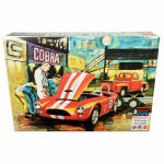 AMT107306 Shelby Cobra Racing Team 1/25 Scale Plastic Model Kit AMT