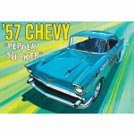 AMT107912 1957 Chevy Salt And Pepper Shaker 1/25 Scale Plastic Model Kit AMT