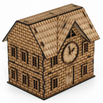 LCW1106 Bella The Town Hall 28mm Scale Miniature Terrain Laser Craft Workshop