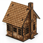 LCW1131 Primrose The Widows Cottage 28mm Scale Miniature Terrain