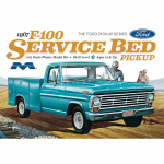 MOE1239 Ford F100 Service Bed Pickup 1/25 Scale Plastic Model Kit Moebius