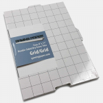 Ggp0004 Gp: Tiles: Grid And Grid 8x11 Inches (4)