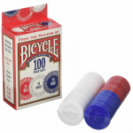 JKR1006252 Plastic Poker Chips 2 Gram Bicycle