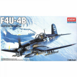 Aca12267 F4u-4b Corsair 1/48 Scale Plastic Model Kit Academy
