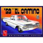 AMT105812 Chevy 1959 El Camino 1/25 Scale Plastic Model Kit AMT