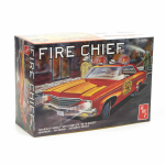 AMT116212 1970 Chevy Impala Fire Chief Car 1/25 Scale Plastic Model Kit AMT