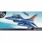 ACA12444 USAF F16A 1/72 Scale Plastic Model Kit Academy