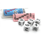 KOP01471 Jolly Roger Dice Game Six Sided Dice (D6) 16mm (5/8in)