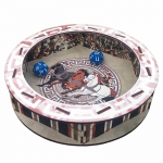 BPN2022 Colosseum 7 Inch Dice Tray Blue Panther