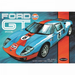 PLL95512 Ford 2006 GT Gulf Labeled 1/25 Scale Snap Plastic Model Kit AMT