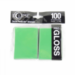 Upr15606 Lime Green Standard Sleeves Gloss Eclipse