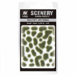 VALSC401 Wild Dry Green Tuft Small 2mm / 0.08 in. Vallejo Paints