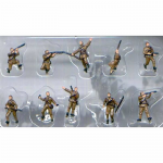PEG0853 WWII Russian Infantry 1/144 Scale Figures Pegasus