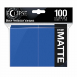UPR15614 Eclipse Pacific Blue Matte Standard Sleeves 100 Count Pack Ultra Pro