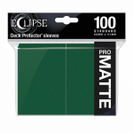 UPR15617 Eclipse Forest Green Matte Standard Sleeves 100 Count Pack Ultra Pro