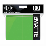 UPR15618 Eclipse Lime Green Matte Standard Sleeves 100 Count Pack Ultra Pro