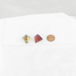 WCXPN0459E2 Primary Nebula Luminary Dice Blue Numbers 16mm (5/8in) D4 Set of 2