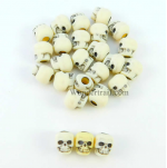 GHGSC2302 Ivory Skull Counters (25)