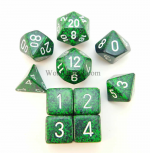 KOP09989 Recon Elemental Dice With White Numbers Set 10pc Dice