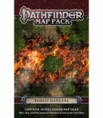 PZO4057 Forest Dangers Pathfinder Map Pack Paizo Publishing