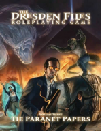 EHP3003 The Paranet Papers The Dresden Files RPG Volume 3 Wvil Hat Productions