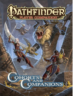 PZO9457 Pathfinder Cohorts And Companions Role Playing Sourcebook Paizo
