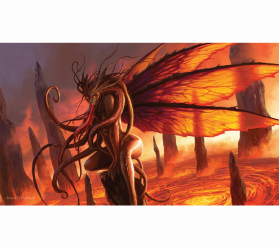 ACT036 Lair of The Succubus Limited Card Game Playmat