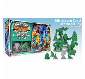 SPM210506 Mistmourn Coast Warband Super Dungeon Explore Expansion Soda Pop Miniatures