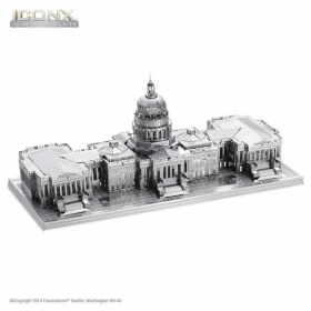 FASICX002 US Capitol 3D Metal Model Kit Iconic Series Fascinations