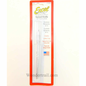 EXL16004 Swivel Aluminum Knife with Safety Cap by Excel