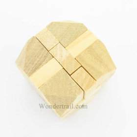 WEX48-4002 Wooden Cube Puzzle by Wood Expressions