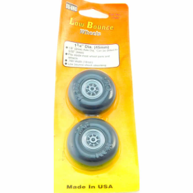 DUB175R Smooth Wheels 1.75in Diameter (2) Du-Bro
