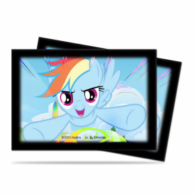 UPR84221 Rainbow Dash My Little Pony Small Card Sleeves