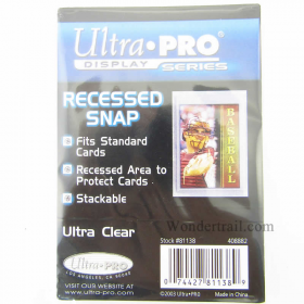 UPR81138 Recessed Snap Card Holder Ultra Pro