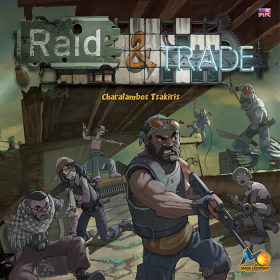 NJD420101 Raid And Trade Science Fiction Board Game