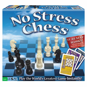 WIN1091 No Stress Chess Strategy Game Winning Moves Games