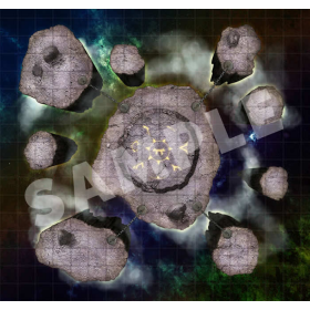 PZO4022 Extradimensional Spaces Gamemastery Map Pack by Paizo