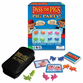 WIN1149 Pass The Pigs Pig Party Edition Game Winning Moves Games