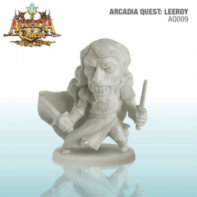CMNAQ009 Leeroy Arcadia Quest Board Game Expansion CMoN