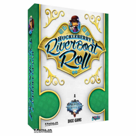 NJD020401 Huckleberrys Riverboat Roll Dice Game Ninja Division
