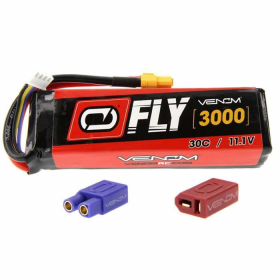 VEN-25159 30c 3s 3000mah 11.1v Lipo Battery with Universal Plug Venom