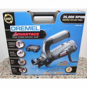 Drm9000-04 Rotary Saw Variable Speed With Comfort Handle Dremel